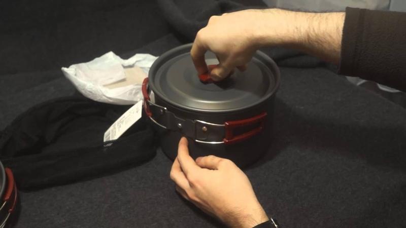 Обзор набора посуды Fire-Maple FMC 209