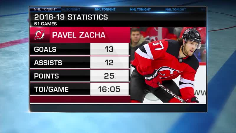 NHL Tonight: Zacha Extension Sep 10, 2019