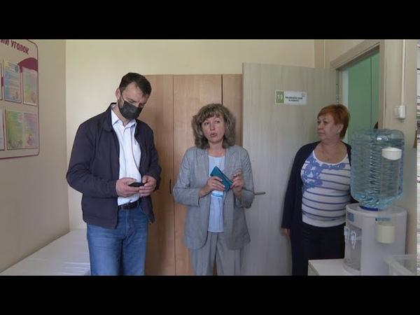 Виктор Неволин посетил школу интернат в деревне Юрово а также среднюю школу №11