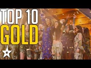 Top 10 Unforgettable Golden Buzzers on America's Got Talent Got Talent Global