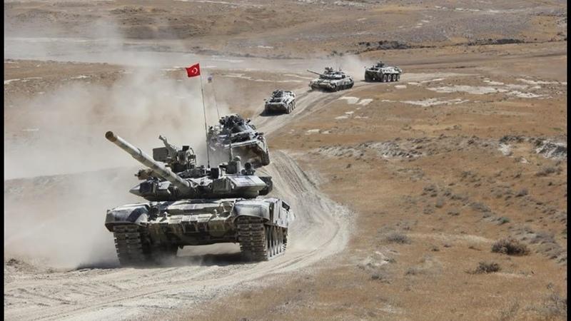 Кровавая битва за Карабах и новая атака Турции в Сирии а также ракеты США в Европе для удара по РФ
