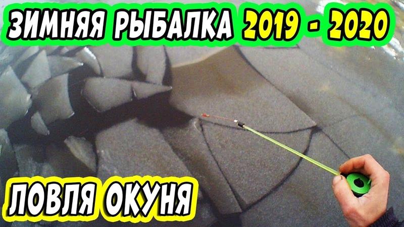 Зимняя Рыбалка 2019 - 2020 продолжается! Ловля окуня на мормышку на опарыша и репей