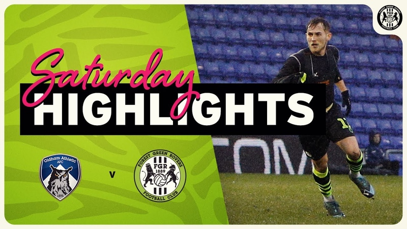 HIGHLIGHTS Oldham Athletic 1 Forest Green Rovers 1