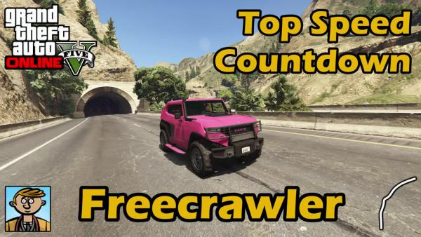 GTA Online - Тест Freecrawler Menacer на макс. скорость