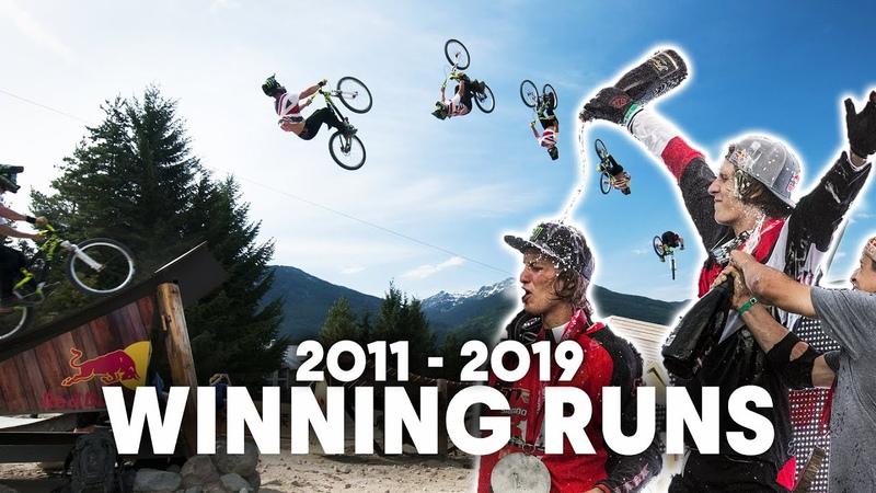 A Decade of Epic Slopestyle Red Bull Joyride Winning Runs 2011 2019