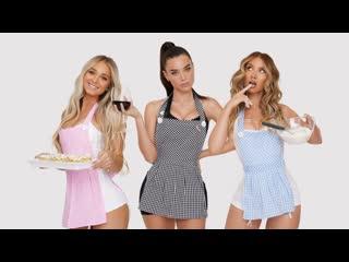 Lana Rhoades - Dating Horror Stories - 3 Girls 1 Kitchen | бывшая порно актриса