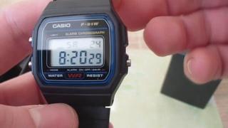 Часы Осамы Бен Ладена Casio F-91W  Легенда 90 тых