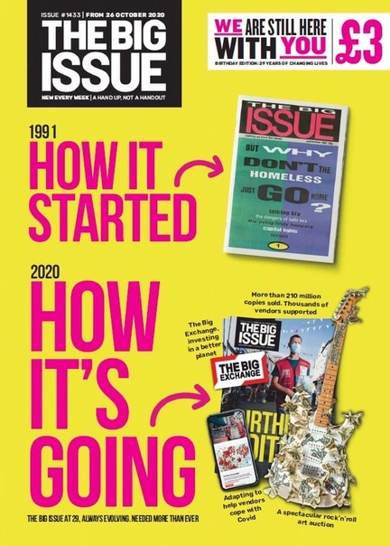 The Big Issue. October 26, 2020