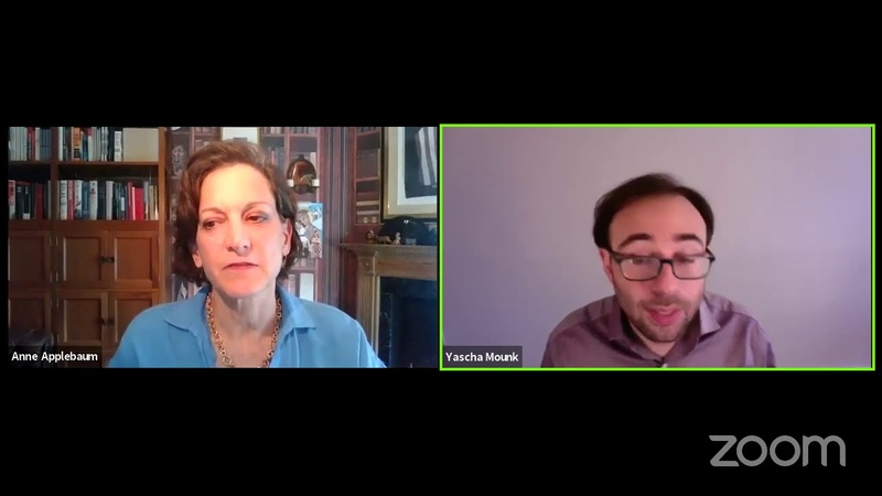 P P Live Anne Applebaum TWILIGHT OF DEMOCRACY with Yascha Mounk