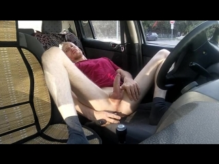 [g #rus #outdoor #wank #sextoy] lanatuls #60 im fuck my ass with a dildo in my car (outdoor)
