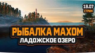 Русская Рыбалка 4 — Стрим на Ладожском озере