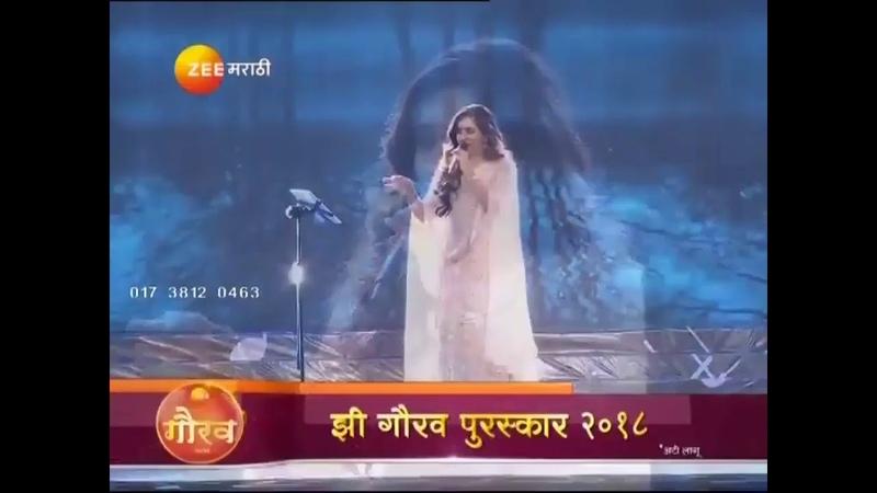 Jiv rangala by shreya ghoshal in swartarang (2018) zee Marathi