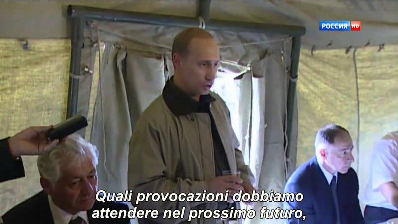 Putin e il brindisi per i caduti [In Dagestan 1999] Ita.