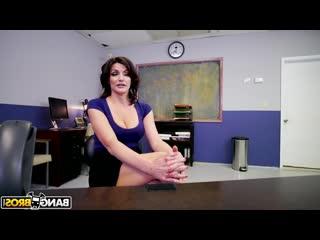 Директор трахнул учительницу в кабинете, pov job sex porn milf mature ass tit busty boob pussy (инцест со зрелыми мамочками 18+)