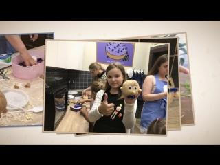 #ШколаМастеровНадым детки проводят мастер класс для деток из многодетных семей и не только в семейном клубе #Город мам