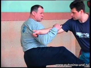 А. С. Фёдоров: защита рт ножа.