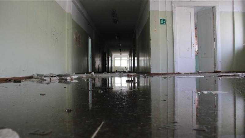 Заброшенная школа №30 Воркута 2015
