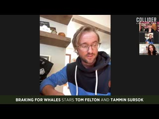 """Tom Felton and Tammin Sursok on Making Braking for Whales Like """"A Band of Pirates"""""""