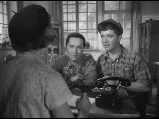 Неподдающиеся (1959)    Фрагмент    'Витя, скажи тёте до свидания'    Юрий Белов, Алексей Кожевников, Надежда Румянцева