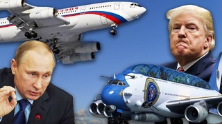 Сравниваем самолеты Путина и Трампа. Кто круче?