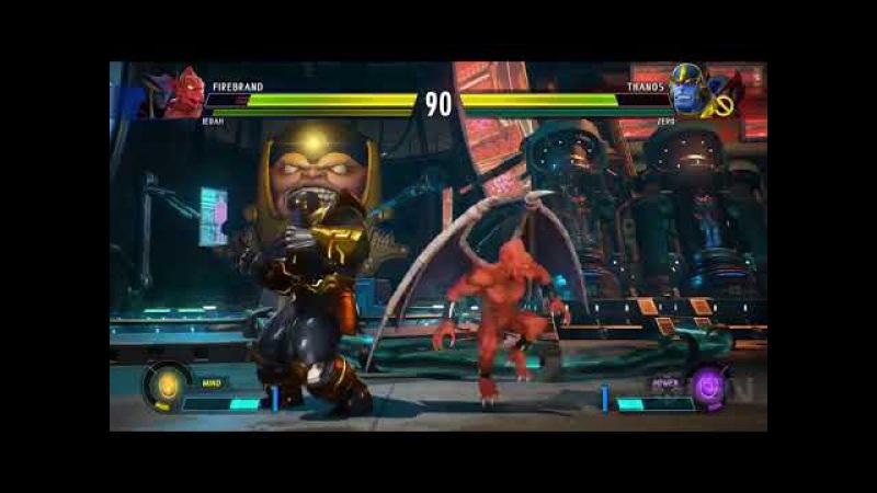 Marvel vs Capcom Infinite New High Level Jedah and Firebrand Gameplay