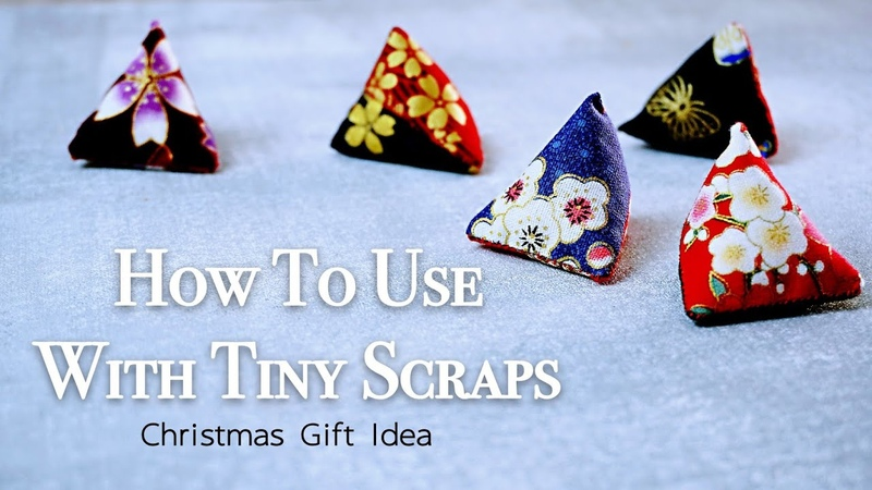 Christmas Gift Idea ✂️ How To Use With Tiny Scraps Hand Stitch HandyMum