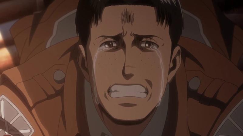 Настоящая смерть Марко 15 серия 3 сезон Атака Титанов