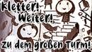 『のぼれ!すすめ!高い塔』 Kletter! Weiter! Zu dem großen Turm 【German Fancover】