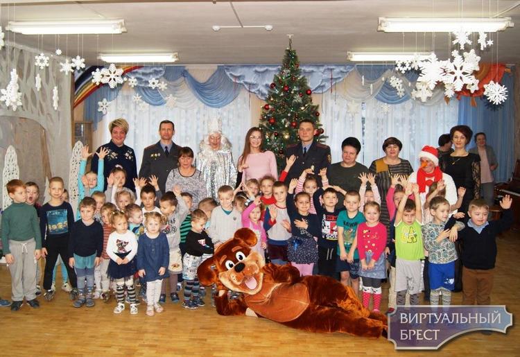 Сотрудники Департамента охраны МВД Республики Беларусь посетили ГУО «Ясли-сад № 65 г. Бреста»