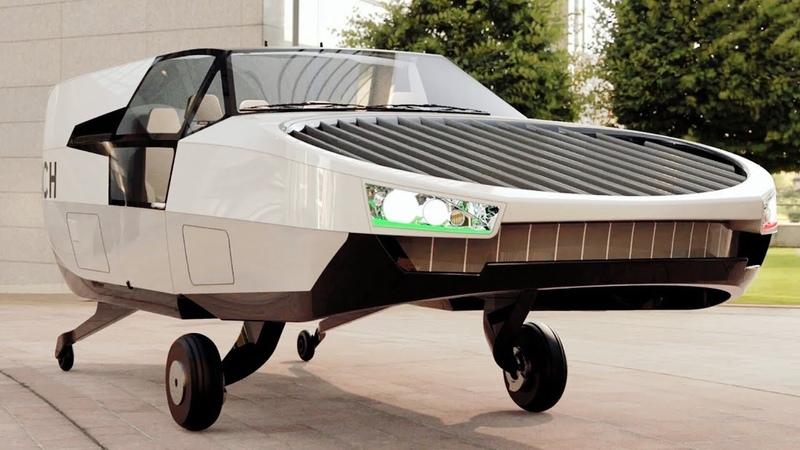 Meet CityHawk Hydrogen Powered Flying Taxi