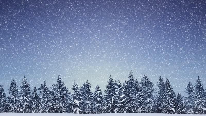 Снег Идет Обои На Рабочий Стол