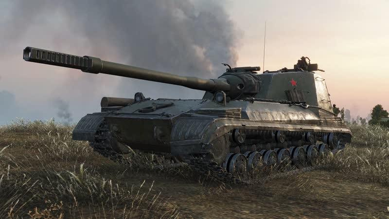 Object 268 V4 11K DAMAGE World of Tanks 720p