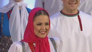 Калинка малинка моя HD Светит месяц Kalinka Malinka Moya Hot Russian dance Pyatnitsky Choir Moiseev