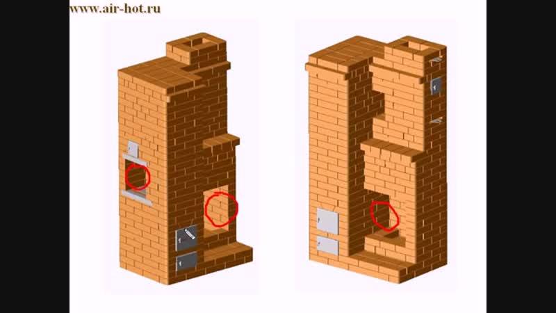 Печи и камины для дачи Уголок строителя