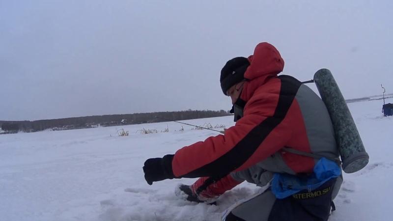 Первые соревнования, Кузбасской лиге по ловле на блесну со льда. 2 часть.