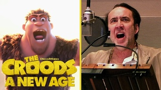 The Croods: A New Age   Behind the Voices   Nicolas Cage, Emma Stone & Other Stars   Bonus Clip