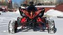 NEW Yamaha Raptor R1 swap. exhaust TOCE. ремонт Raptor YFM 700