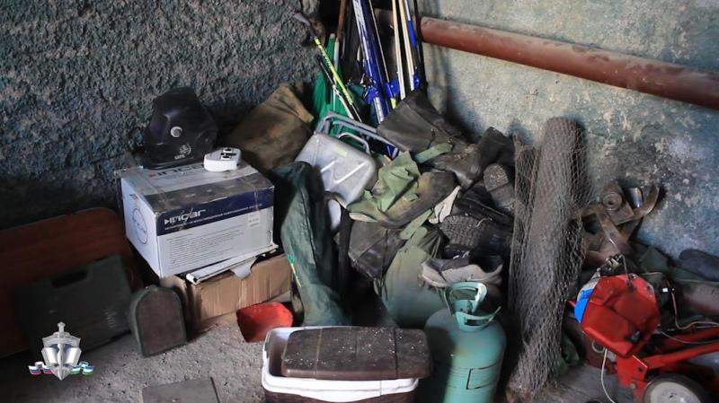 Сотрудниками уголовного розыска задержан подозреваемый в совершении кражи из гаража