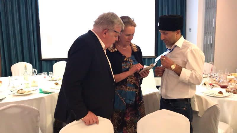 Переговоры с мэром Бледа и Марией Юрье Коскинен