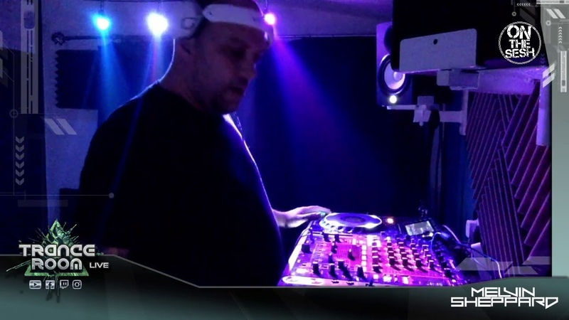 MELVIN SHEPPARD Live @ Trance Room On The Sesh Live Night 03 10 Argentina