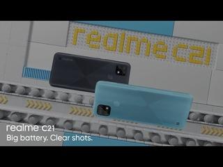 realme C21 | Big battery. Clear shots.
