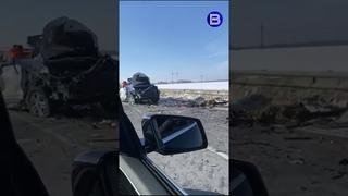 Водитель погиб в лобовом ДТП на новосибирской трассе