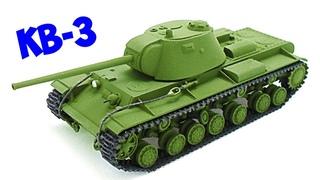 КВ-3 - Опытный тяжелый советский танк Второй Мировой. Секретные проекты танков второй мировой