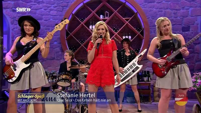 Stefanie Hertel Die DirndlRockBand - Que sera (Schlager-Spaß mit Andy Borg 14.09.2019)