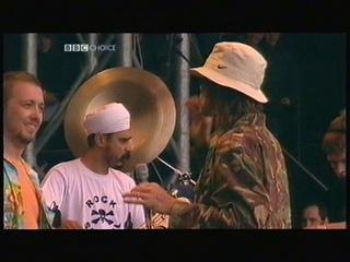 Ian Brown - Glastonbury 2002