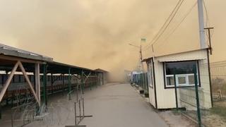 Пожежа на Луганщині. Вогонь поширився до КПВВ Станиця Луганська