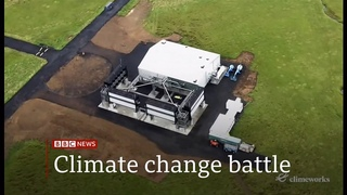 World's biggest machine capturing carbon from air turned on in Iceland - BBC News - 9 September 2021