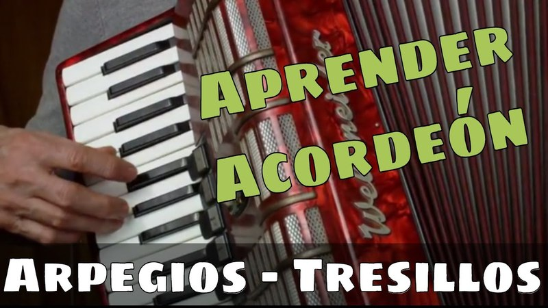 APRENDER ACORDEÓN CLASE 39 El Tresillo Valores irregulares en la melodia Arpegios en Sol Mayor
