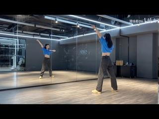 舞蹈教學 dance tutorials|超详细动作分解 带字幕|斯芬克斯- part2 Sphinx Full-curved mirror super slap jump|the nine|the9