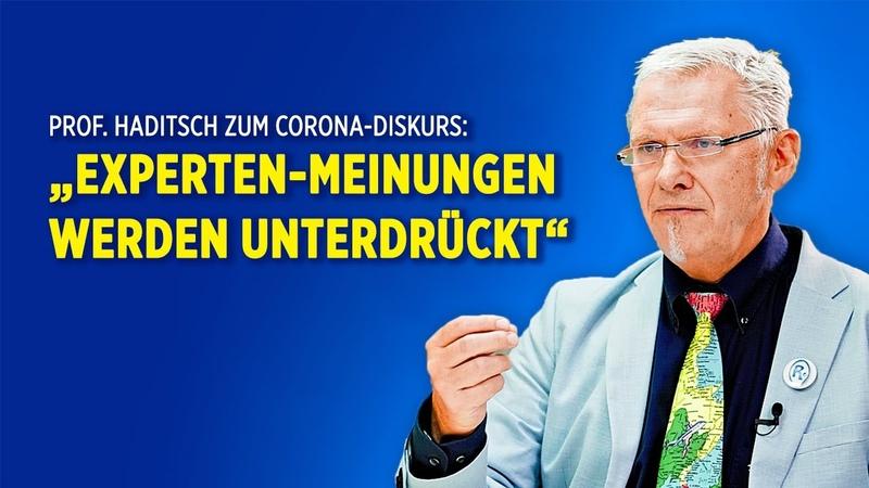 Prof Haditsch im Interview Die Zukunft von Corona wird politisch entschieden